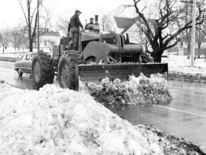 1FPM wheel dozer, U. S. Route 20, Lake County, OH,  December 3, 1950