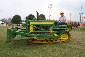 420C dozer, Berryville, VA, July 2013 047