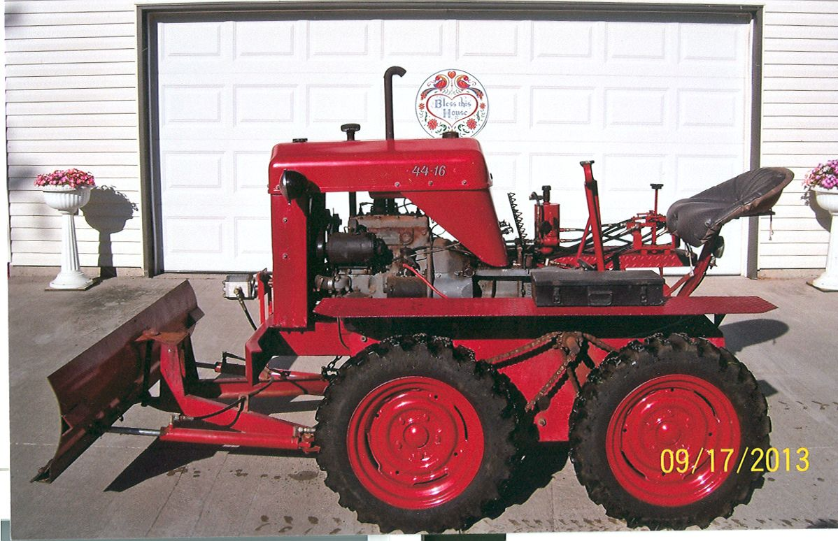 how to make a dozer blade for a garden tractor