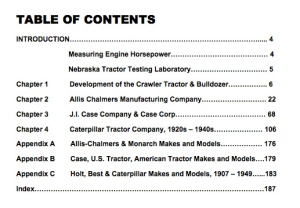 Table of Contents for Volume 1
