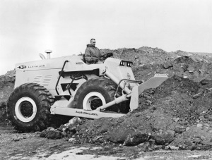 Allis-Chalmers Model D-30 wheel dozer, Pit & Quarry