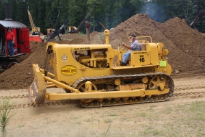 Allis-Chalmers Model HD-16 dozer (1958), Brownsville, PA,