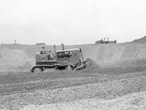 Allis-Chalmers Model HD-16 dozer, Pit & Quarry