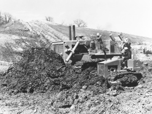 Allis-Chalmers Model HD-41 & Model 652 dozers, Pit & Quarry