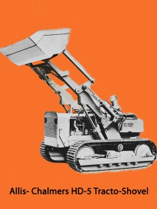 Allis-Chalmers Model HD-5G with Tractomotive loader, Edgar Browning