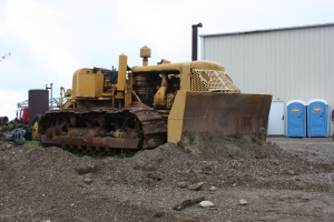 Allis-Chalmers Model HD-9X with Baker 9X-Dozer blade, Lakeside Sand & Gravel