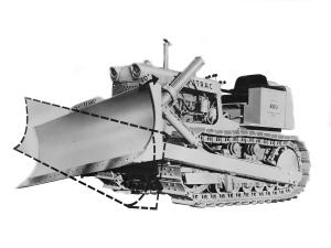 American Tractor Co. Terratrac 800 dozer (1957), Pit & Quarry