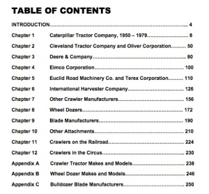 Table of Contents for Volume 2