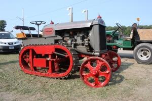 Avery Track Runner tractor (1923), Canandaigua NY Show, 2014 115