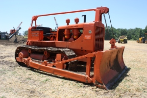 Baker cable blade on Allis-Chalmers HD-19 (1950)
