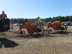 Baker-Maney pull-scrapers, HCEA Show