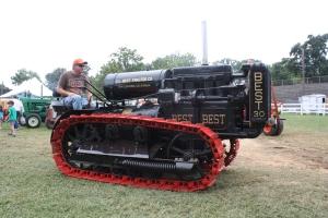 Best Model 30 tractor, Billy Sanders, Berryville, VA Show, 2013  012