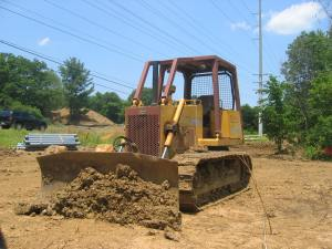 Case 850D Long Track dozer, Evergreen, VA