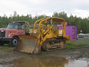 Case Model 1150 loader, Wasilla, Alaska