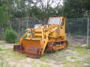 Case Model 320 loader