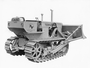 Case Terratrac Model 500 dozer, (1958), Pit & Quarry