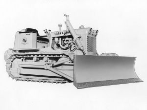 Case Terratrac Model 800 dozer, Pit & Quarry