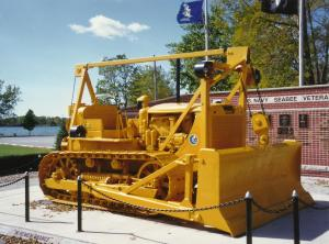 Cat D-7 Buffalo NY SeaBee Memorial _2