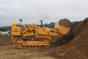 Caterpillar 933G track loader, Lititz, PA