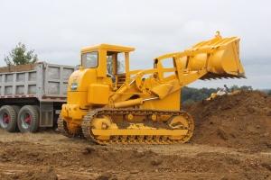 Caterpillar 977H track loader, Lititz, PA