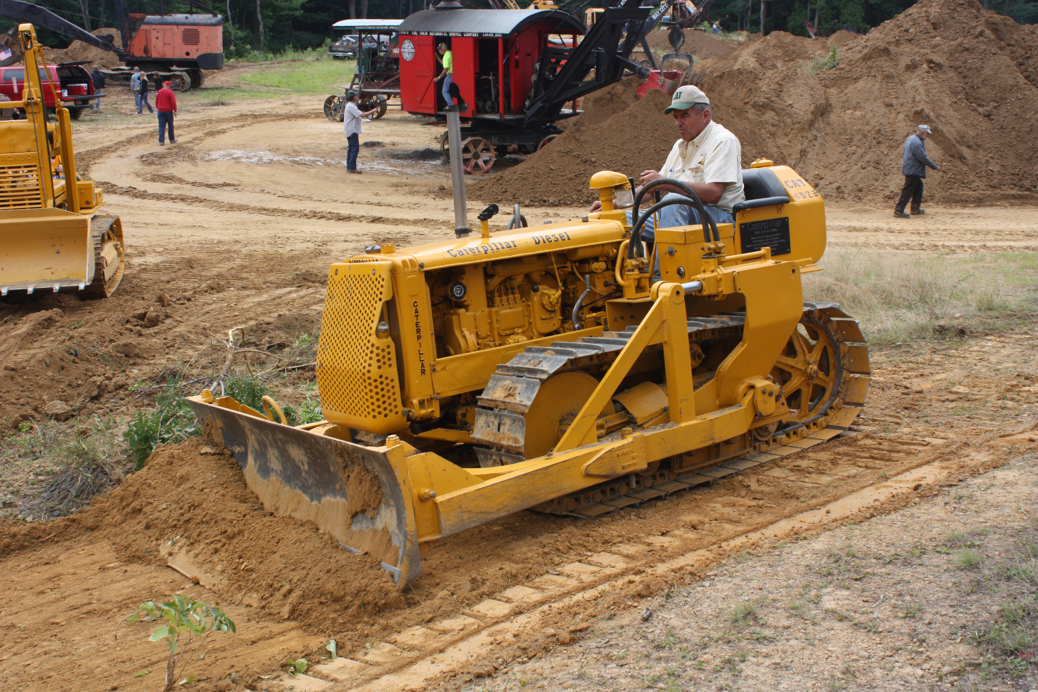 Old Cat Bulldozers For Sale