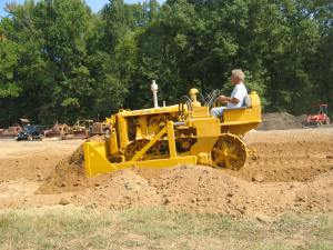 Caterpillar D-2 (5U) dozer from 1949, Rockville, VA