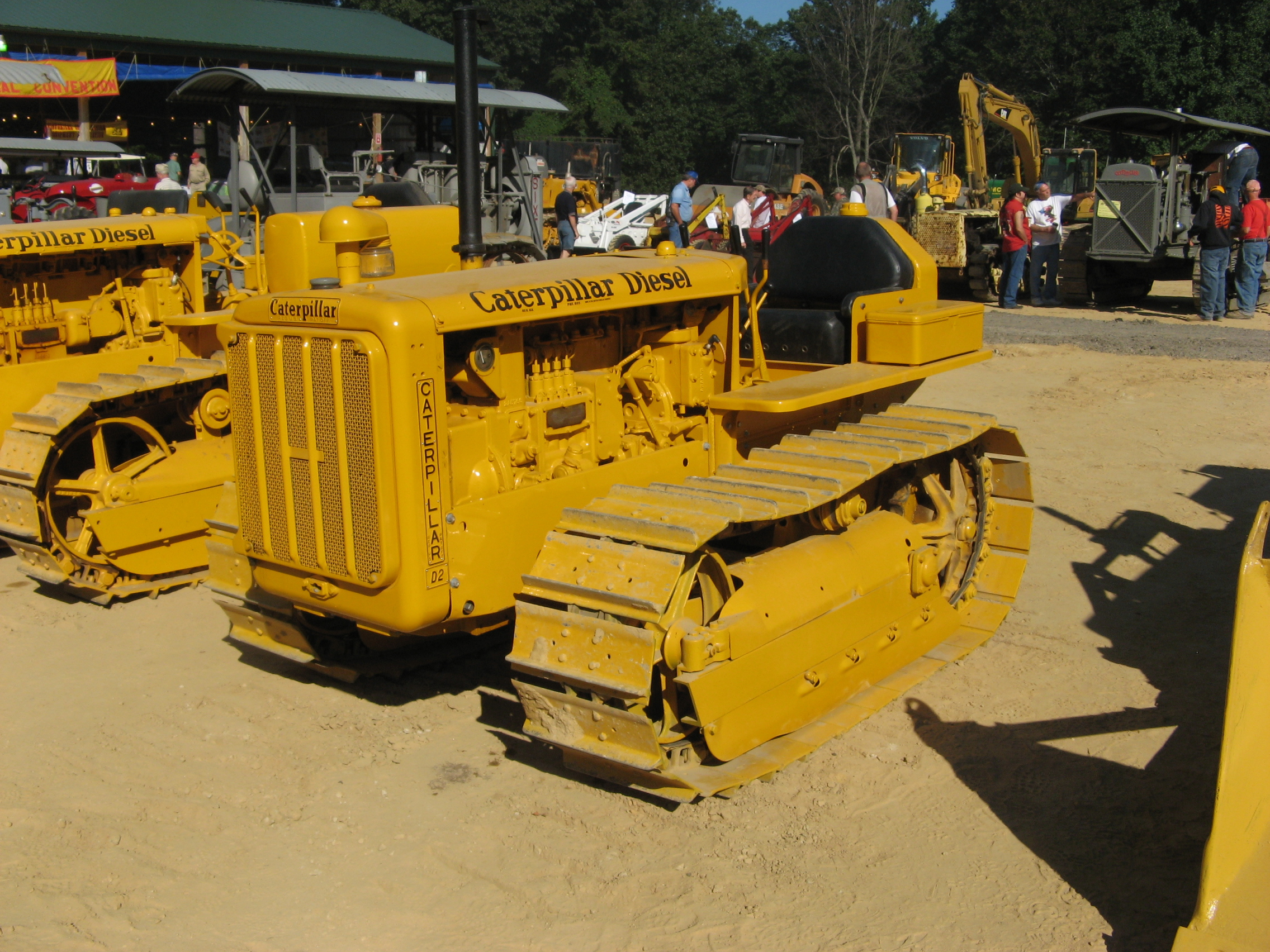 Caterpillar D-2 tractor (1938), Brownsville,PA