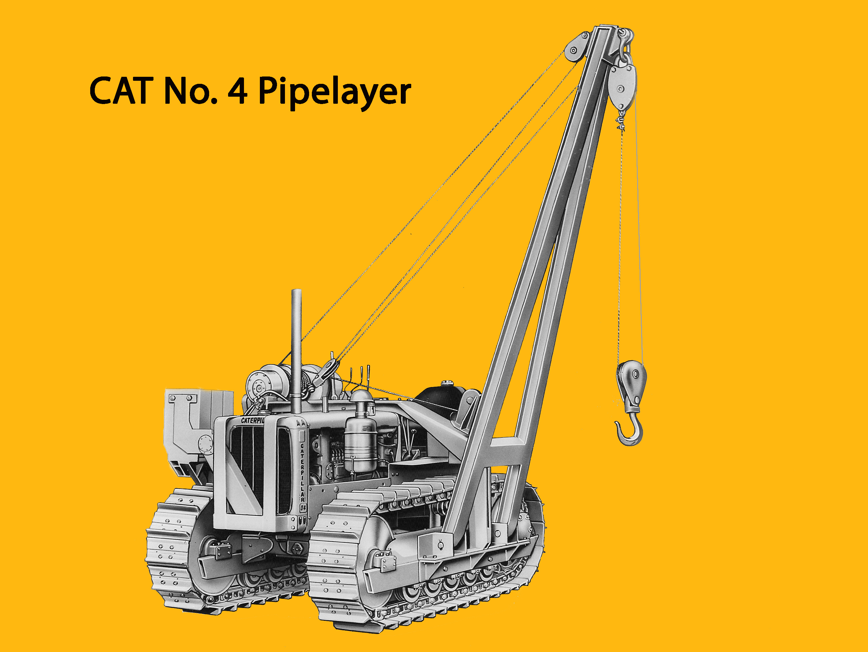posatubi  pipelayer-posatubi Caterpillar-d-4-with-no-4-pipelayer-edgar-browning-image