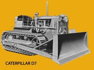 Caterpillar D-7 (3T) dozer, Edgar Browning Image