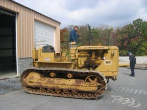 Caterpillar D-7 (3T) tractor
