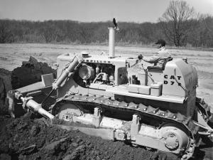 Caterpillar D-7E dozer, Pit & Quarry