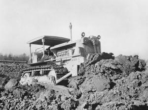 Caterpillar D-8 (13A) dozer, Pit & Quarry