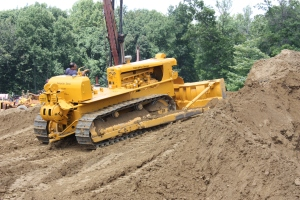 Caterpillar D-8 (15A) dozer, Brownsville, PA