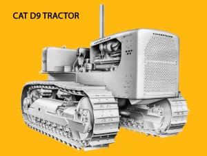 Caterpillar D-9 (18A) tractor, Edgar Browning Image