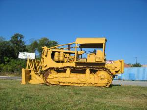 Caterpillar D-9G push-dozer, Roanoke, VA