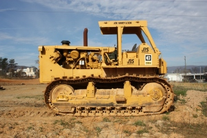Caterpillar D-9H tractor, Salem, VA