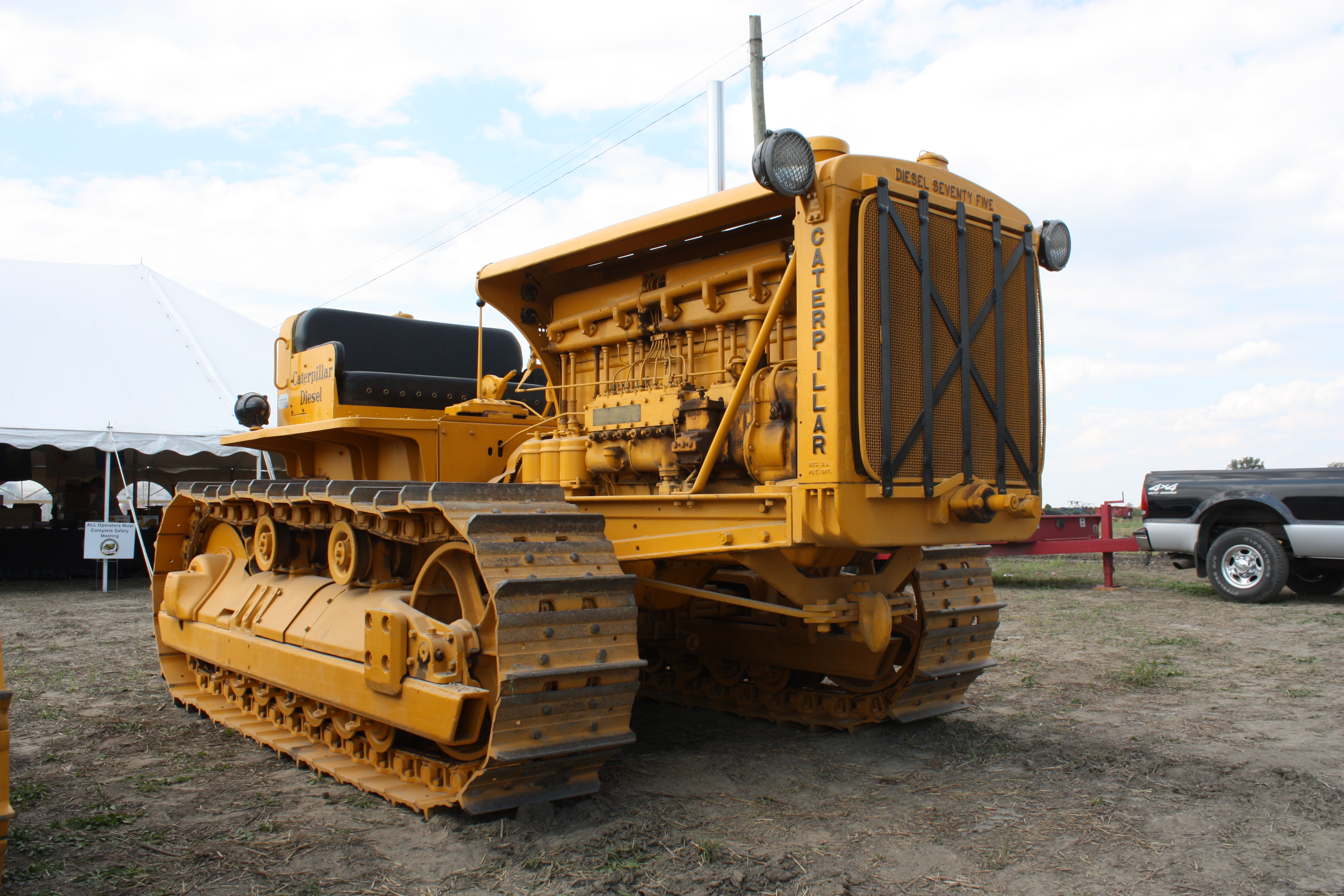 Parts Heavy Equipment Trader : Caterpillar vintage dozers old tractors for sale autos post