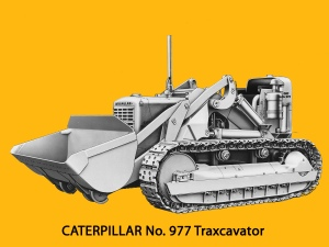 Caterpillar Model 977 Traxcavator loader, Edgar Browning image
