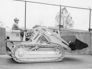 Caterpillar Model HT-4 Traxcavator Shovel, Pit & Quarry