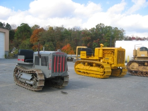 Caterpillar Ten & Forty Diesel tractors, Duncansville, , Pennsylvania