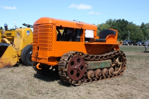 Cletrac Model E-38 styled tractor (1937)