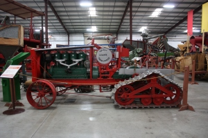 Dayton-Dick Leader half-track tractor (1917), Heidrick Ag Musuem, Woodland, CA  059