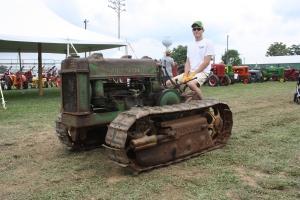 Deere-Lindeman BO-L tractor, Barryville, VA, 049