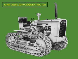 Deere Model 2010C tractor, Edgar Browning image