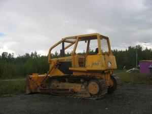 Deere Model 850 dozer, Wasilla Alaska
