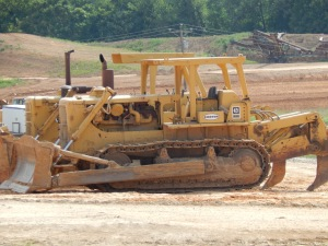 Caterpillar D-8H dozers, Harrisonburg, VA. Brady Harper photo