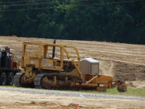 Caterpillar D-7F with Jersey spreader, Harrisonburg, VA. Brady Harper photo