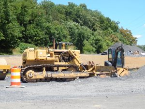 Caterpillar D-7G dozer with Jersey spreader. Brady Harper photo
