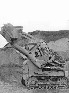 Emico Model 123 front loader, Pit & Quarry