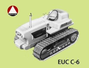 Euclid Model C-6 tractor, introduced in 1955, Edgar Browning Image